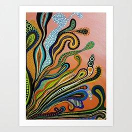SEA V Art Print