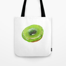 Matcha Glazed Donut Tote Bag