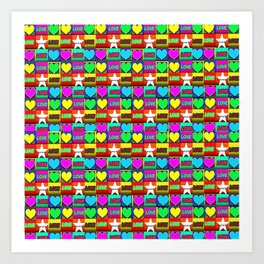 LOVE-1 Art Print