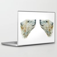 polar bear Laptop & iPad Skins featuring Polar bear by Laura MSS