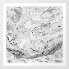 Marble No. 2 Art Print