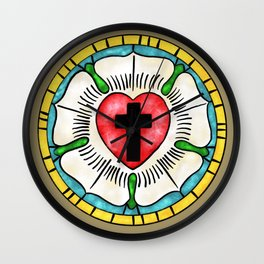 Luther Rose  Wall Clock