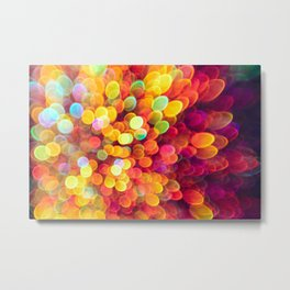 Light and Shimmer Metal Print