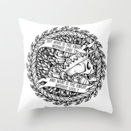 What is the knight? Throw Pillow