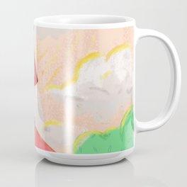 Cute Girl Painting Scenery Coffee Mug