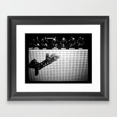Keep on rockin' in the free world Framed Art Print