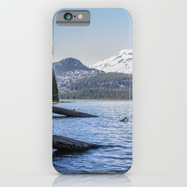 South Sister from Sparks Lake iPhone Case