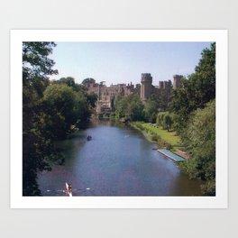 Warwick Castle Art Print