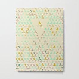 Triangle Lake Metal Print