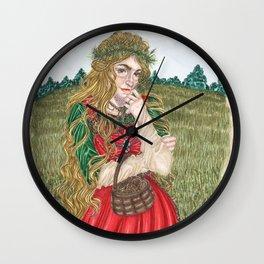 Goddess Sif Wall Clock
