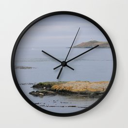 Harbor seals enjoy the San Juans Wall Clock