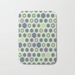 Honycomb Art Deco Bath Mat
