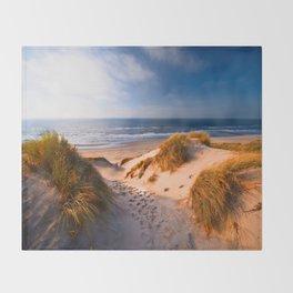 Manzanita Beach Throw Blanket