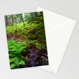 Hiking in Whistler-Blackcomb Stationery Cards