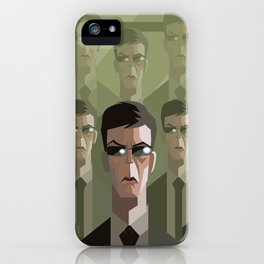 agent clones duplicates iPhone Case