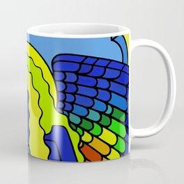 GALGALIEL the blue angel of vibrations Coffee Mug