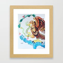 The Wings of Mexico Framed Art Print