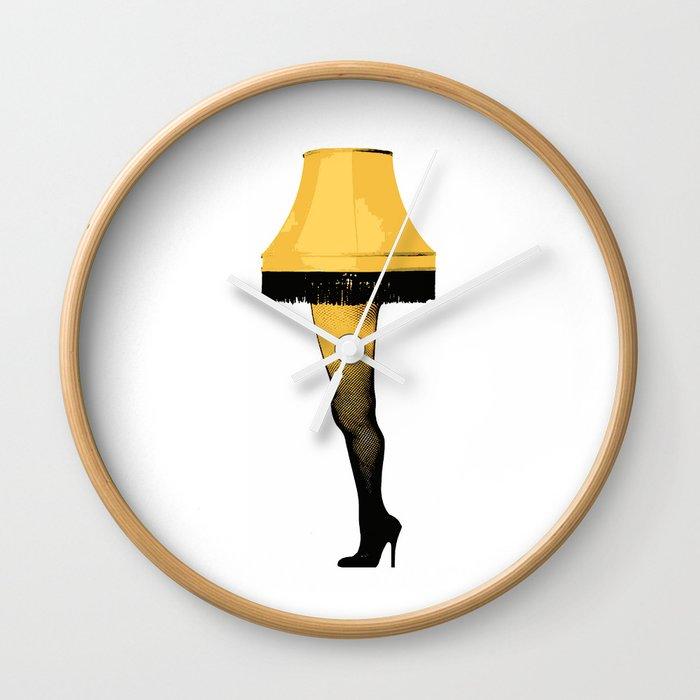 Leg Lamp | A Christmas Story Wall Clock