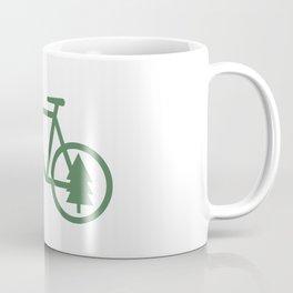 Pacific Northwest Cycling - Bike, Bicycle, Portland, PDX, Seattle, Washington, Oregon, Portlandia Coffee Mug