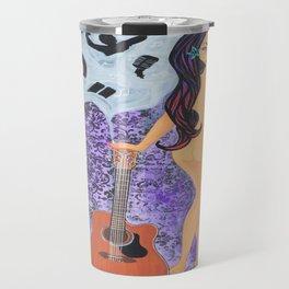 Mystic Melody, Smoking Lady Series Travel Mug