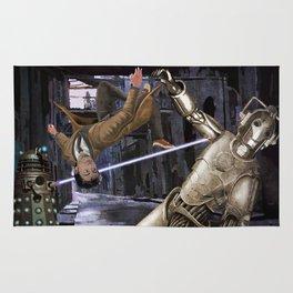 Doctor vs Dalek and Cyberman Rug