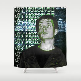 I´ve lost control again Shower Curtain