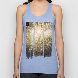 I found a tree in the forest Unisex Tank Top