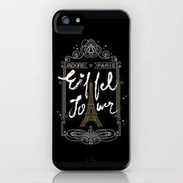 J'adore Parie iPhone Case