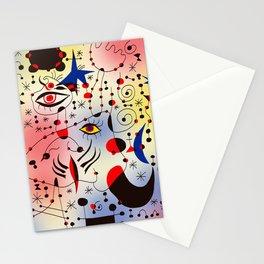 Joan Mirò Pattern #1 Stationery Cards