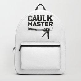 Caulking Gun Caulk Master Tiler Craftsman Backpack