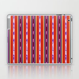 Red and Purple huipil Laptop & iPad Skin