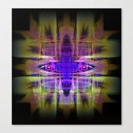 Electric Goddess Canvas Print