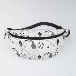 Cat Butts Pattern Fanny Pack