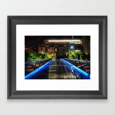 Millenium Bridge & The Tate Modern (HDR) Framed Art Print