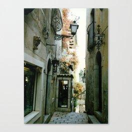 Taormina, Sicily Canvas Print