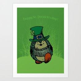 Happy st. Patrick's Day! Art Print