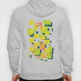 Color Orange Juice Illustration Hoody
