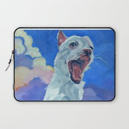 Special Needs Pippin Dog Portrait Laptop Sleeve