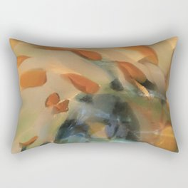 Colored Glass II Rectangular Pillow