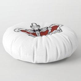 Crown - Red Floor Pillow