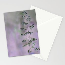 Grass invers Stationery Cards