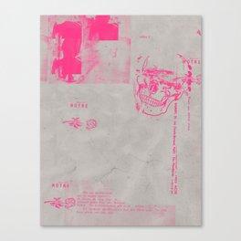 Pinknihilist, VII Canvas Print