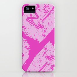 Babel Fish in Pink iPhone Case