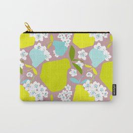 Pears + Pear Blossoms Carry-All Pouch