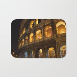 Colosseum - Rome, Italy Bath Mat