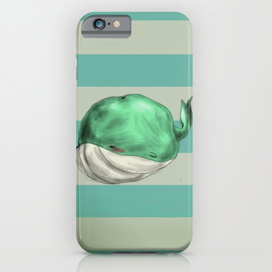 Tubby Sketch Whale iPhone & iPod Case