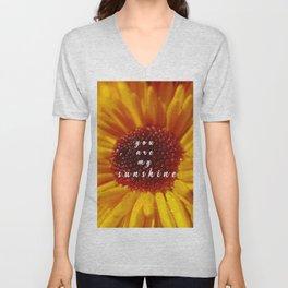 Chrysanthemum Unisex V-Neck