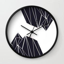 Mountains B2 Wall Clock