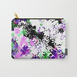 Painty Flowers Carry-All Pouch