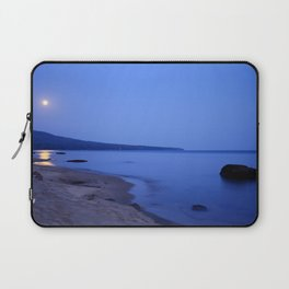 Moon Shimmering on Superior Laptop Sleeve
